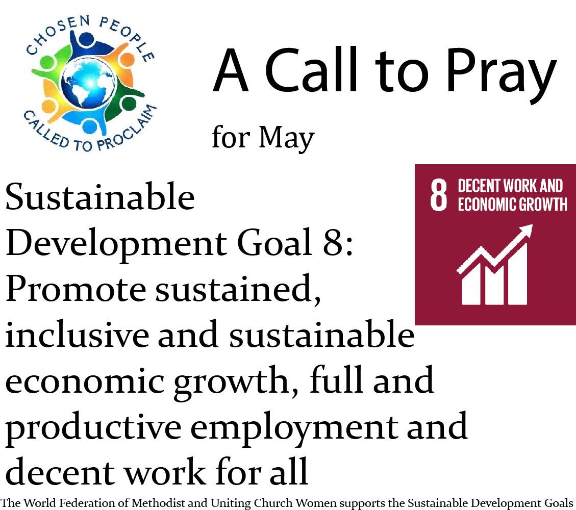 A Call to Pray – May 2021