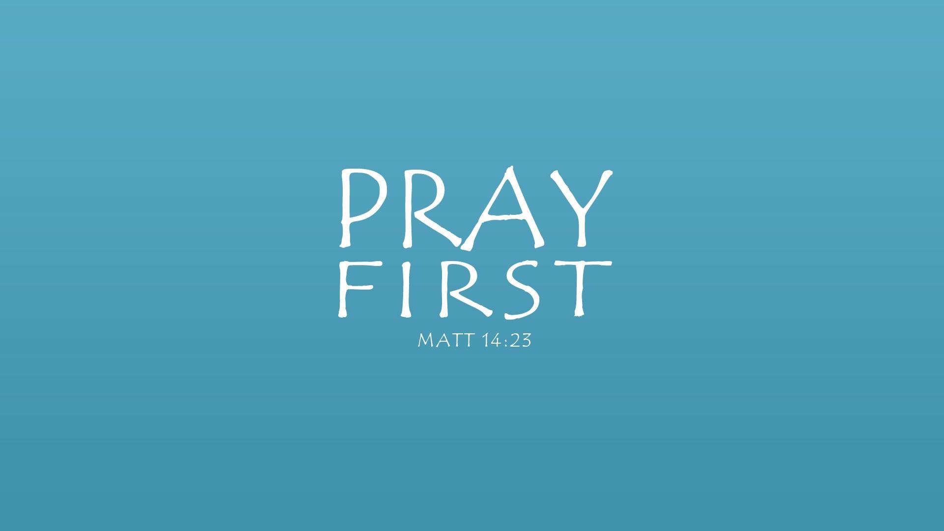 A Call to Pray – April 2019