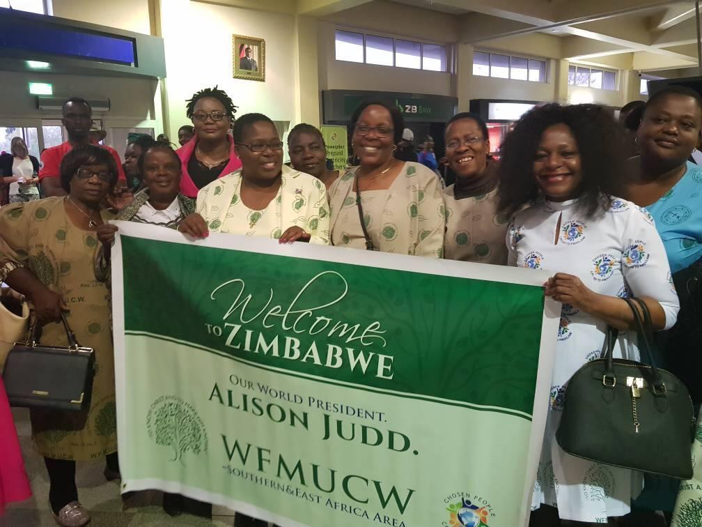Report on Alison Judd's Visit to Zimbabwe