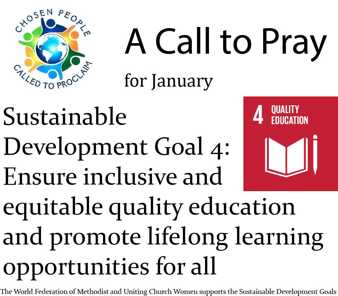 A Call to Pray – January 2021