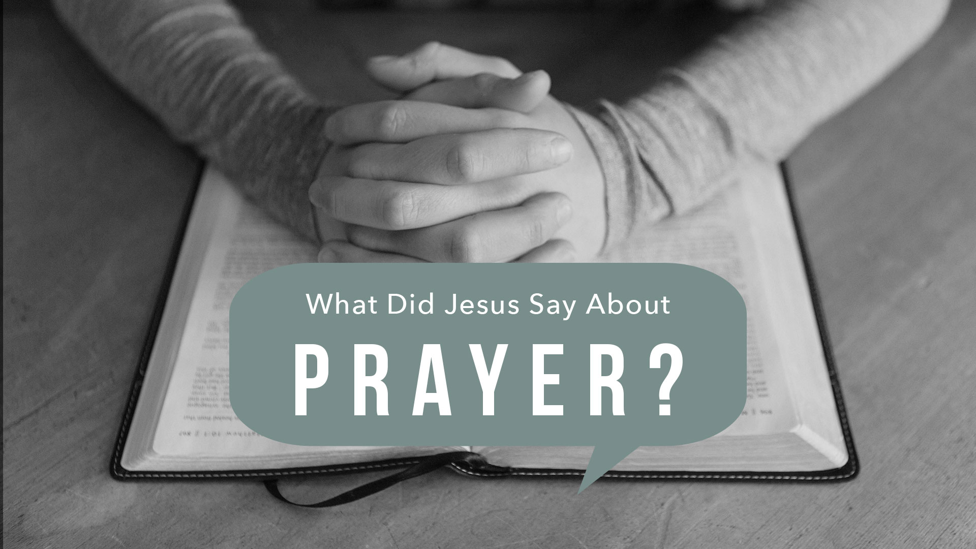A Call to Pray – August 2019