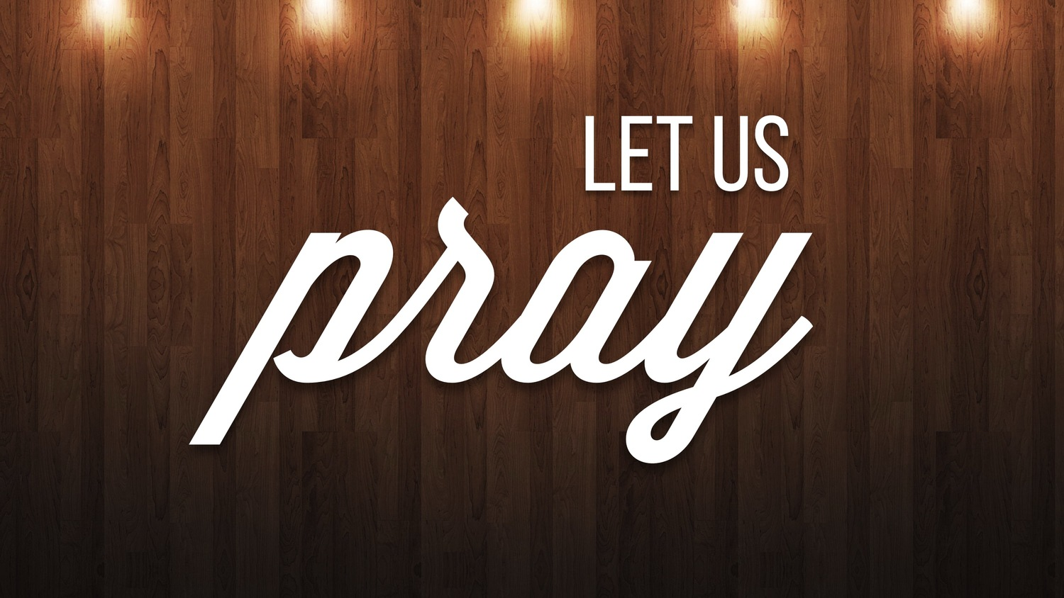 A Call to Pray – June 2018