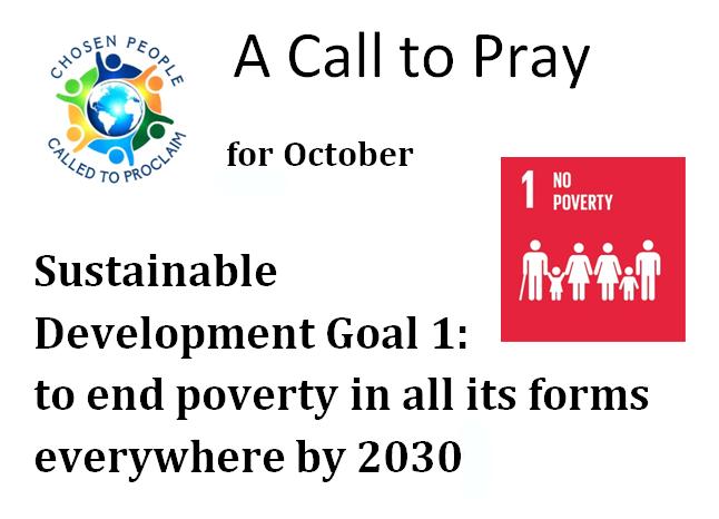 A Call to Pray – October 2020