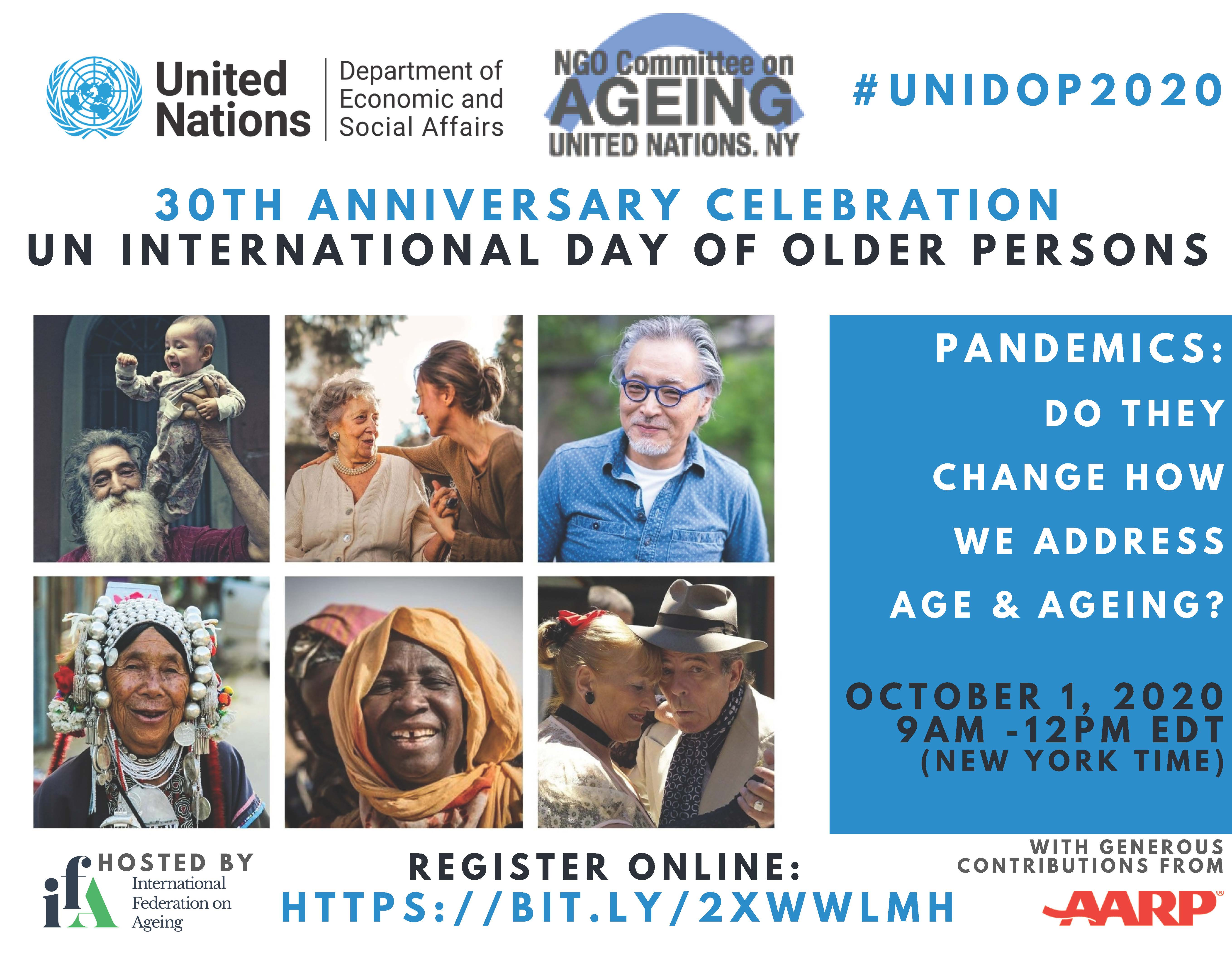 United Nations International Day of Older Persons (UNIDOP)